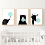 Állatok buborékkal